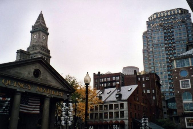 Centre-ville de Boston