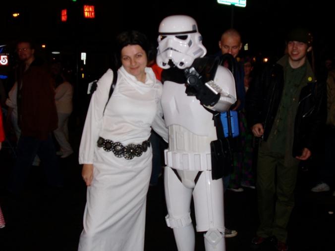 Je n'étais pas la seule dans le thème Star Wars!