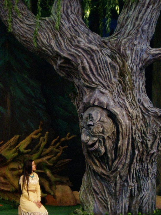 Pocahontas qui apprend à écouter son coeur