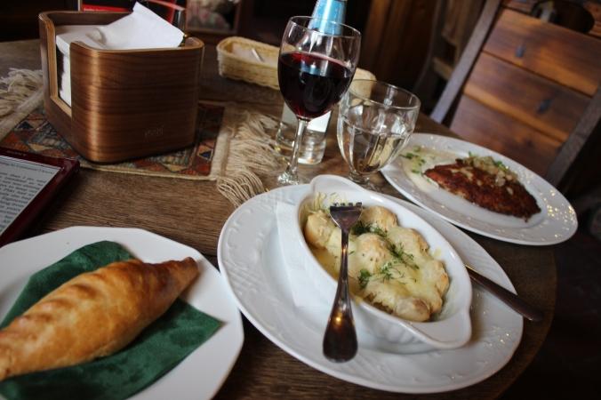 'Petit lunch léger'