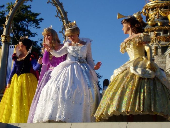 Plein de princesses!