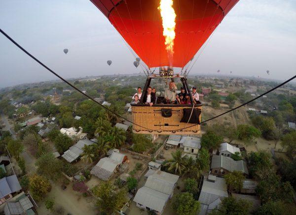 Les montgolfières sont même équipées de GoPro pour nous offrir un petit souvenir!