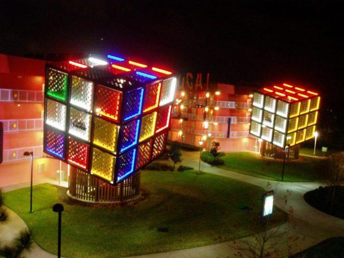 Rubik's Cube géants de l'hôtel