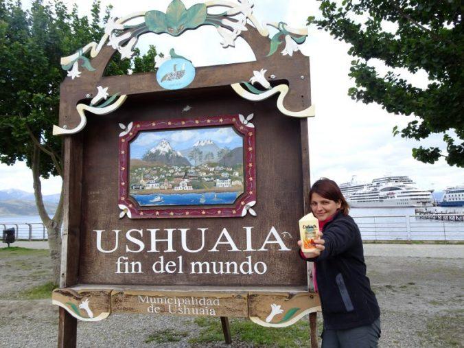 Se laver avec du gel douche Ushuaïa à Ushuaïa, check!