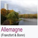 Allemagne Francfort & Bonn