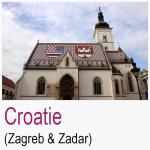 Croatie Zagreb Zadar