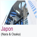 Japon Nara Osaka