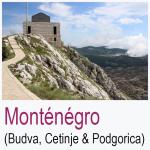 Monténégro Budva Cetinje Podgorica