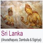 Sri Lanka Anuradhapura Dambulla Sigiriya